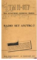 Cover of: Radio Set AN/TRC-7